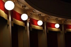 particolare del Teatro Alfieri