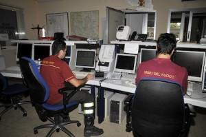 vigili del fuoco centrale operativa