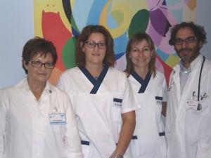 i medici Marina Gavioso, Giuseppe Parello e le infermiere ospedaliere Manuela Cazzulo e Elena Scarrone