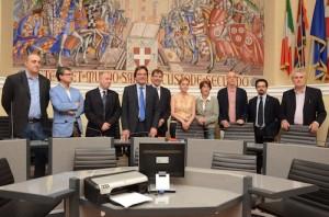 6 giugno 2012 - Il neso sindaco Brignolo presenta la sua giunta