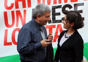 NICHI VENDOLA MONICA CERUTTI