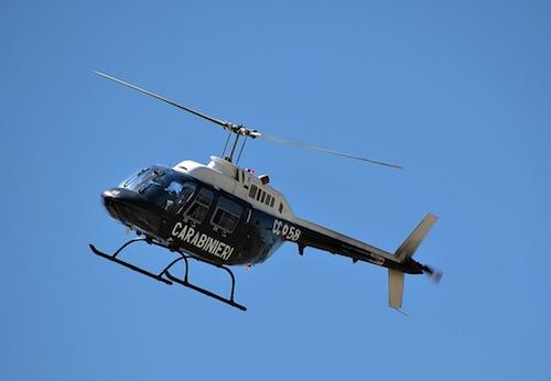 Elicottero Immagini : Carabinieri quot in volo sull astigiano per prevenire la