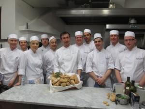 Gli chef di Carluccio's all'Icif di Costigliole d'Asti