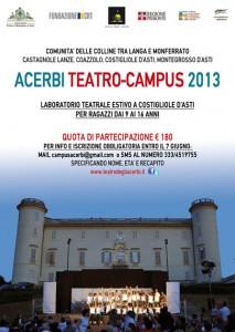 Laboratorio teatrale per ragazzi a Costigliole d'Asti