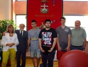 Concluso lo stage formativo per ragionieri alla Provincia - GAZZETTA D'ASTI 2013