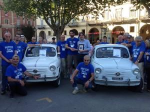 """Tappa astigiana per la """"600 miglia"""": le Fiat 600 in giro per l'Italia - GAZZETTA D'ASTI 2013"""