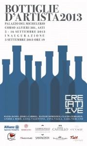 Bottiglie d'Artista a Palazzo del Michelerio