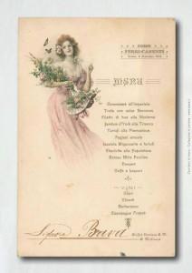 mostra di menu storici Bava - Cocco...Wine - Gazzetta d'Asti
