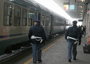 POLIZIA FERROVIARIA - POLFER - GAZZETTA D'ASTI