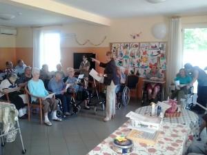 Festa di fine estate alla casa di riposo Rocchetta Tanaro