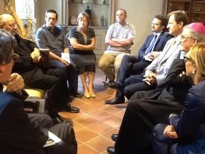 Comitato Papa Francesco ha incontrato martedì mattina il cardinal Angelo Sodano