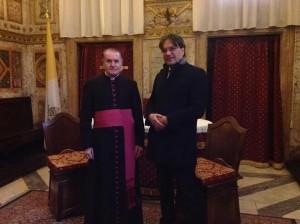 Mons.Paccanelli della Segreteria di Stato del Vaticano