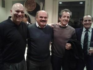 Ferrero e i Renziani astigiani festeggiano con Farinetti e si preparano ai congressi del fine settimana