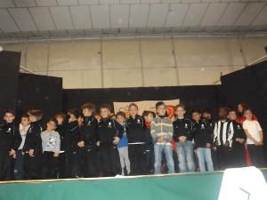 Visita ufficiale della Juventus Soccer School alla Scuola Calcio della Polisportiva Mezzaluna,