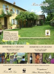 """""""Festa del Vino"""" al Forteto della Luja di Loazzolo"""