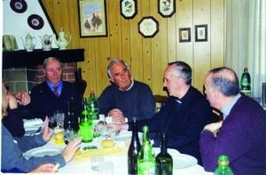 A pranzo con papa Bergoglio
