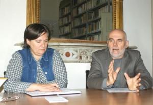 Mario Renosio e Nicoletta Fasano ISRAT