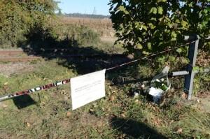 23 ottobre Il luogo del ritrovamento di Elena Ceste