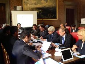 Brignolo alla riunione dei presidenti di provincia piemontesi