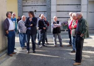 Sindaco nei cimiteri frazionali per incontrare i cittadini in vista dei santi
