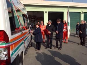 Inaugurata ambulanza Croce Verde