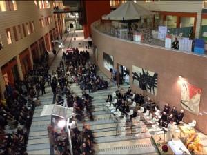 Oltre settecento persone alla messa di Natale in ospedale con il Vescovo