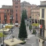 Albero di Natale in piazza Statuto