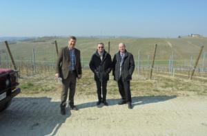 Docenti e viticoltori americani nelle vigne di Asti