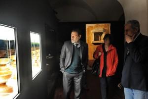 Il Soprintendente Massimo Osanna in visita a Palazzo Mazzetti