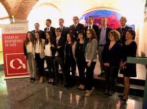 Per otto giovani talenti del territorio formazione e stage grazie alla collaborazione tra Banca C.R.Asti e Deloitte &Touche