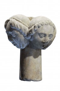 Museo di S. Anastasio, stelo di fontana, sec. XIII