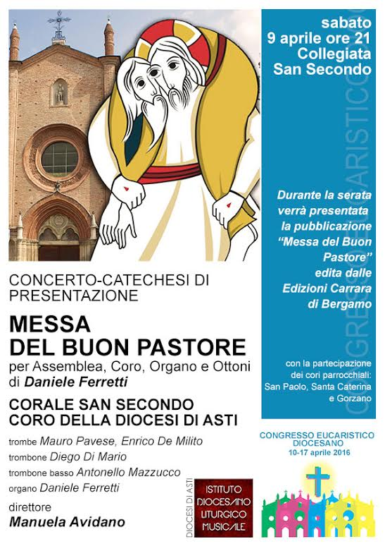 La Messa del Buon Pastore del maestro Ferretti