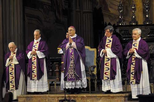 In Cattedrale la celebrazione delle ceneri