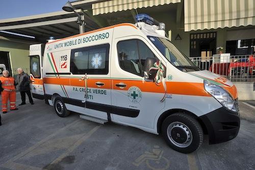 11.018 i servizi svolti della Croce Verde di Asti nel 2014