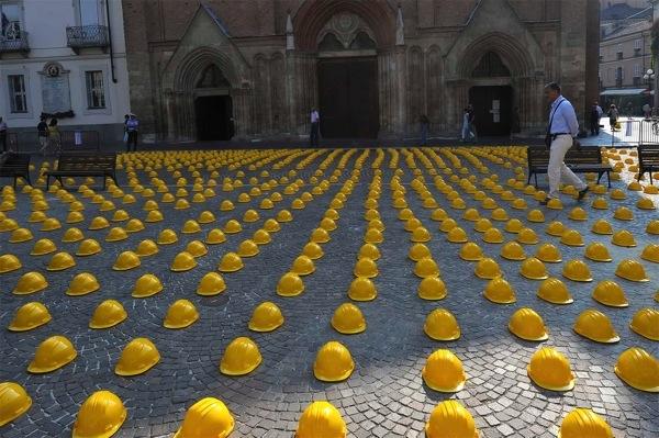 Crisi nell'edilizia, 300 addetti hanno perso il lavoro in Piemonte nell'ultimo mese