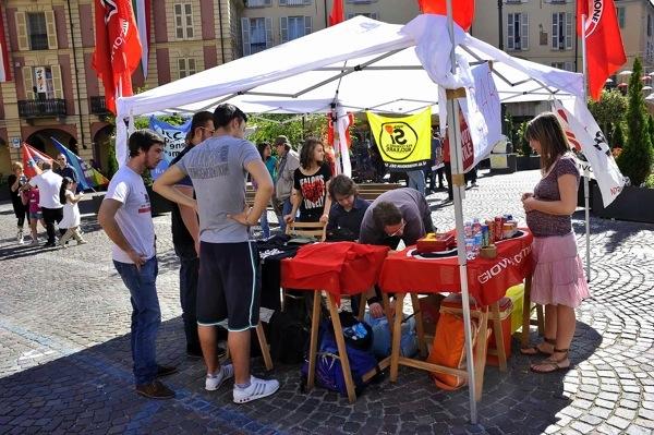 2 Giugno:  le foto delle celebrazioni della Costituzione da parte delle organizzazioni di sinistra