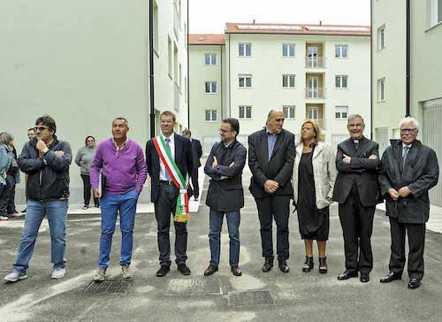 Consegnati 36 alloggi Atc in via Arno