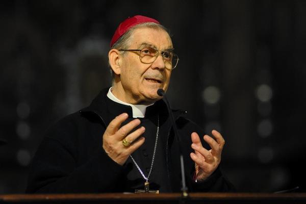 Celebrazone dei Vespri con il vescovo di Asti Francesco Ravinale