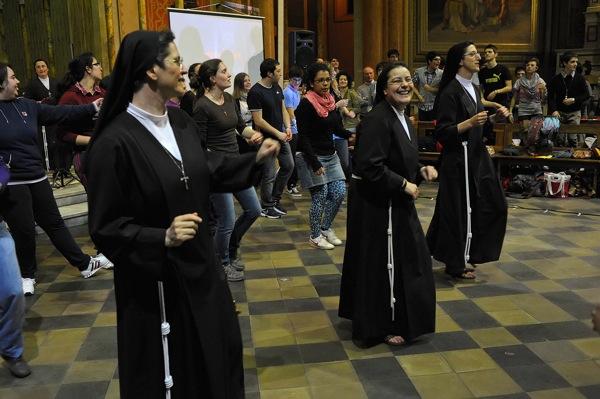 Le immagini delle suore Alcantarine nell'Astigiano