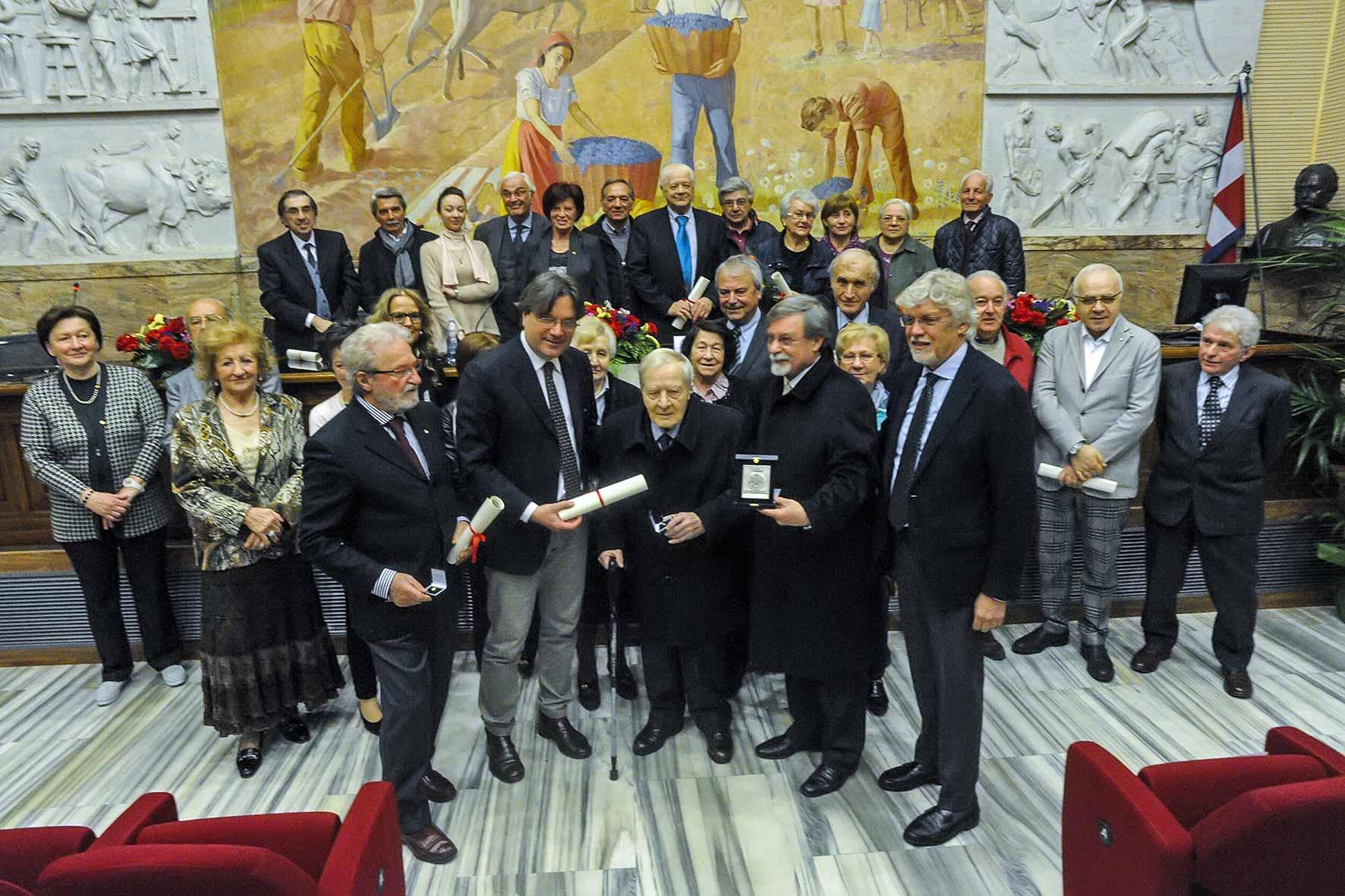 Maestri del commercio premiati dall'Enasco