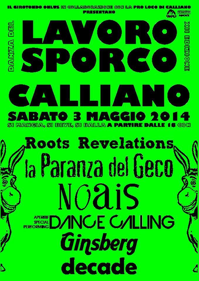 Danza del Lavoro Sporco a Calliano