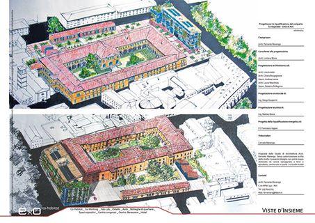 Asti, un progetto per l'ex ospedale