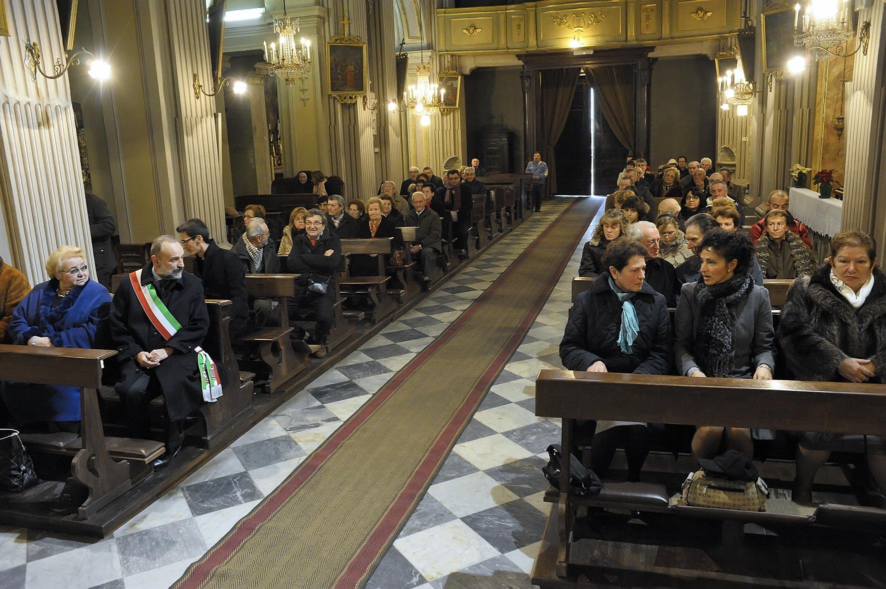 Messa a San Paolo Solbrito in occasione del 90° compleanno di Mons. Visconti