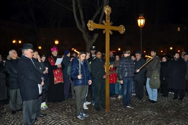Asti, le foto della Via Crucis