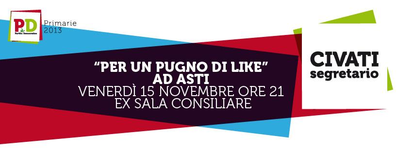 Corradino Mineo, Daniele Sensi e Giovanni Diamanti ad Asti per parlare di politica e comunicazione