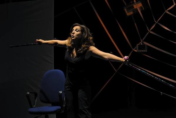 Un pubblico caloroso ha accolto Antonella Ferrari al Festival Asti Teatro