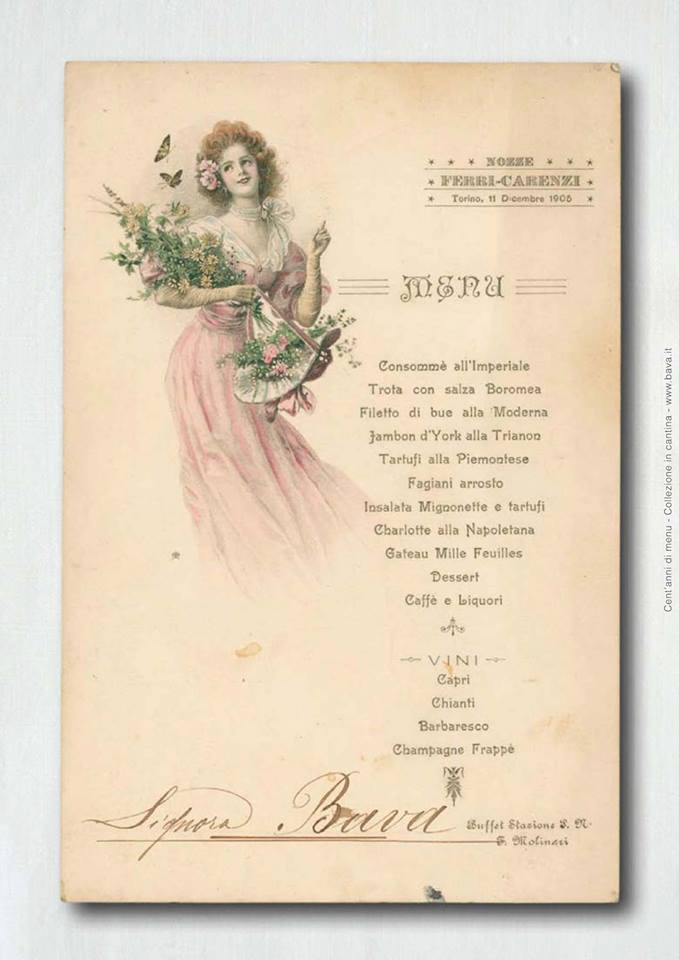 A Cocco…Wine una mostra di menu storici