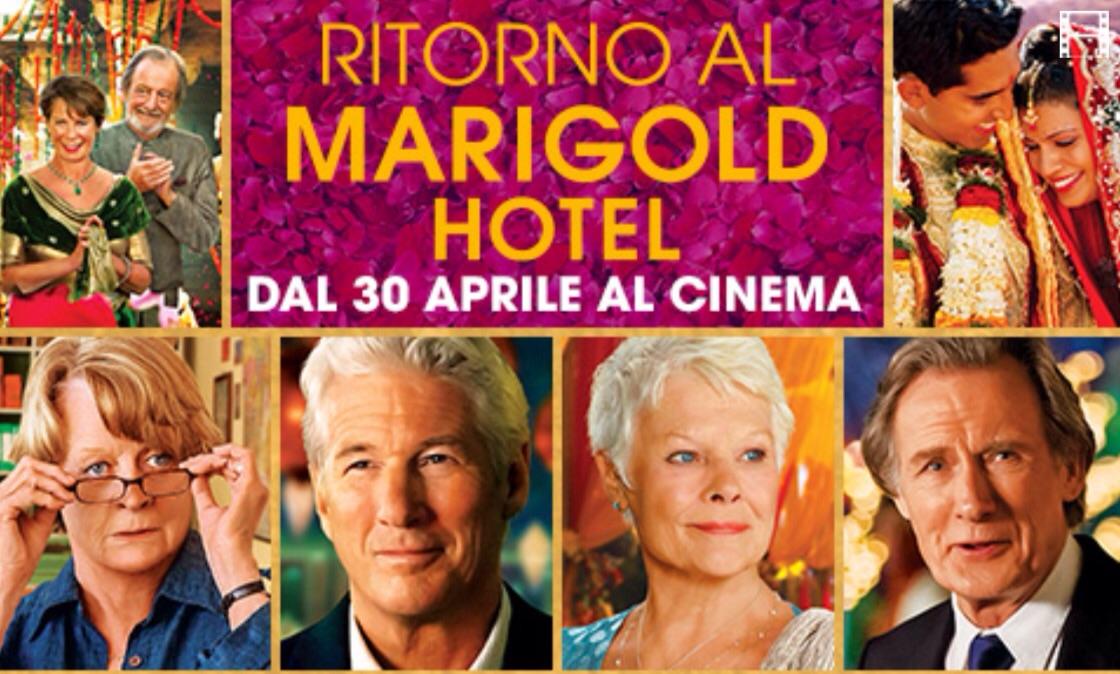 """In Sala Pastrone """"Ritorno al Marigold Hotel"""""""