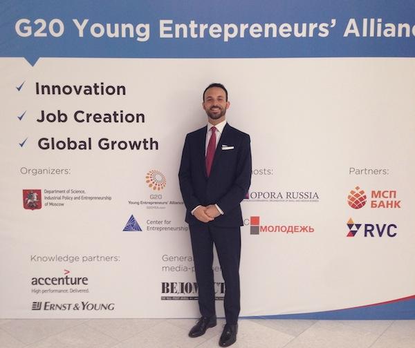 Riccardo Ruscalla, un industriale astigiano al G20 di Mosca