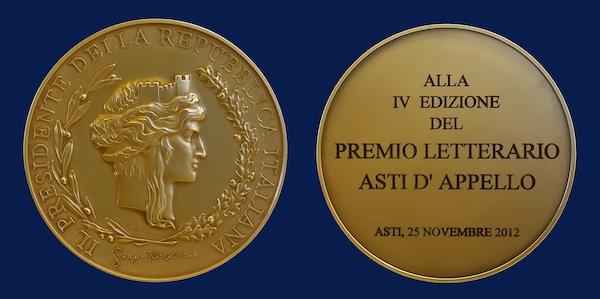 medaglia di rappresentanza del Presidente della Repubblica